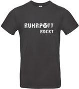 T-Shirt RUHRPOTT ROCKT used black