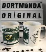 """Tässken """"Mit Schmackes"""" Skyline-Stadtadler-Bier mit Unterschrift"""
