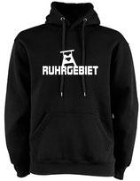 Hoodie - RUHRGEBIET used black