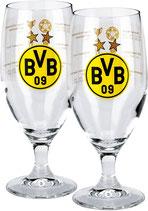 BVB-Pilstulpe mit Erfolgen 2 Stück