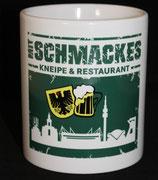 """Tässken """"Mit Schmackes"""" Skyline-Stadtadler-Bier ohne Unterschrift"""
