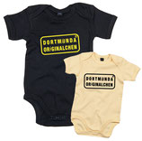 Baby Body schwarz/gelb Dortmunda Originalchen