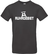 T-Shirt- RUHRGEBIET used black