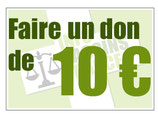 Don en ligne de 10 €