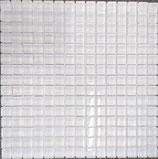 Mosaico 20mm WHITE GLASS