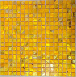 Mosaico 15mm Madreperla Giallo 30,5x30,5x0,2cm