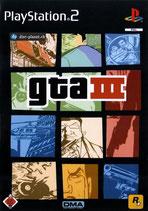 PS2 - Grand Theft Auto 3 / GTA 3 (2001)