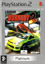 PS2 - Burnout 2: Point of Impact (Platinum)