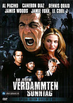 DVD - An jedem verdammten Sonntag (1999)