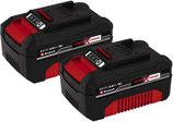 Original Einhell 18V 4Ah Power X-Change PLUS TWINPACK