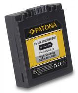 Akku f. Panasonic CGA-S002 Lumix FZ5 DMCFZ1 FZ1B DMC-FZ1/ FZ1B DMCFZ10