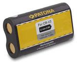 Akku f. Canon CRV3 PowerShot A300 A60 A70 A75 CRV3 CRV3 Casio CRV3 QV