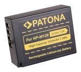 Akku f. Fujifilm NP-W126 FinePix HS30 EXR HS30EXR HS-30EXR HS33 EXR