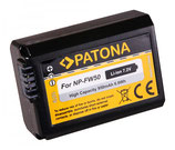 Akku f. Sony NP-FW50 Alpha 7 5000 5100 6000 NP-FW50 Cyber-shot RSCRX10