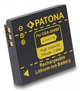 Akku f. Panasonic CGA-S008E Lumix DMCFS20 DMC-FS20 DMCFS3 DMC-FS3