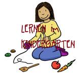 Lernen im Kindergarten - Bilder
