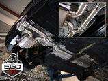 EGO-X Abgasanlage ab Kat MINI Cooper S + JCW F56