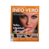 """Info Vero """"Volkskrankheit Zucker"""""""
