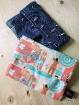 Pochette à savon en coton enduit / Etui de voyage sur mesure