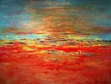 Schilderij Dreamscape abstract Setine van der Noordaa