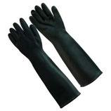 Black Rubber Glove ถุงมือป้องกันสารเคมี