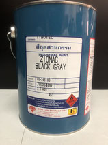 Acrylic Lacquer Paint Zionac Black Gray (4 Kg/Can)
