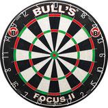 BULL'S Focus II Bristle Dart Board   45,5 cm