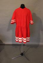 Römerkleid rot