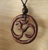 Holz Halskette OM Gu-2907.01 e
