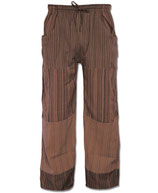 Soul Flower Hose Brown long