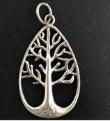 Silberanhänger Tree of life oval SMK-S 01