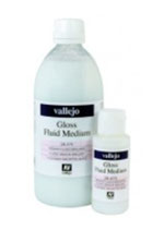 Gloss Medium, ( not a varnish ) Vallejo 500ml
