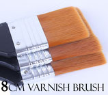 Flat 8 cm varnish brush