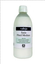 Satin Medium ( not a varnish ) , Vallejo