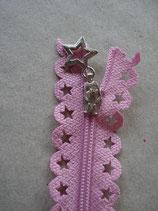 Reißverschluss, rosa