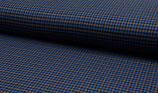 Aneska, blau kariert