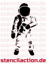 Schablone - Astronaut