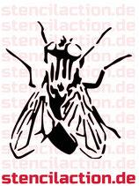 Schablone - Fliege 20x19 cm