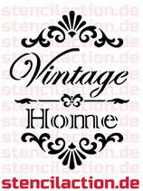 Schablone - Vintage Home - Shabby