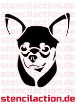 Schablone - Chihuahua Hund