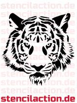 Schablone - Tigerkopf