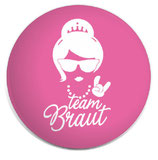 Button Team Braut