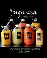 001 Jugos de frutas 100% naturales en diversas presentaciones