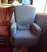 Grijze stoffen fauteuil | Art.nr: 0008