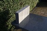 Granitpalisade 24x12x8 cm graphit 50 Stück