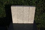Granitpalisade 40x12x8 cm grauweiß -  50 Stück