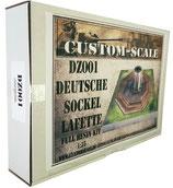 DZ-001 Deutsche Sockellafette Full Resin Kit