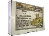35046 3cm Flakvierling Zerstörer 45 auf Panzer 4J Conversion Resin Kit
