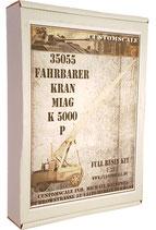 35055 Fahrbarer Kran Miag K 5000-P Full Resin Kit