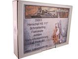 35003 HS 117 Schmetterling Flakrakete mittlere Versuchsausführung